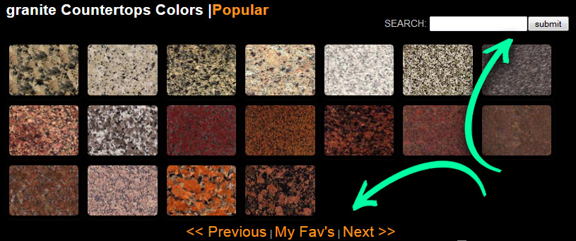 Granite Countertops Colors Search